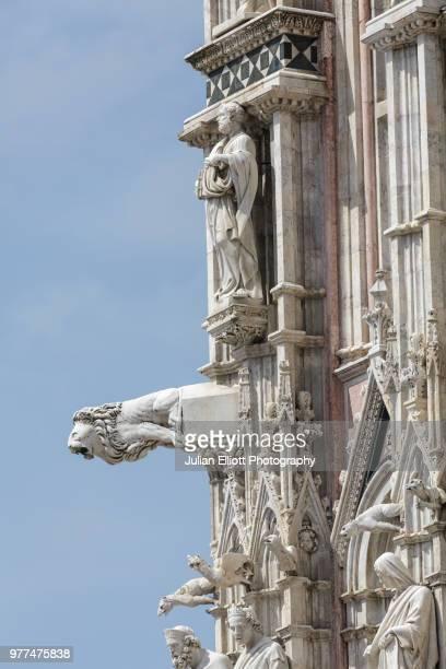 Il duomo di Siena or Siena cathedral, Italy.