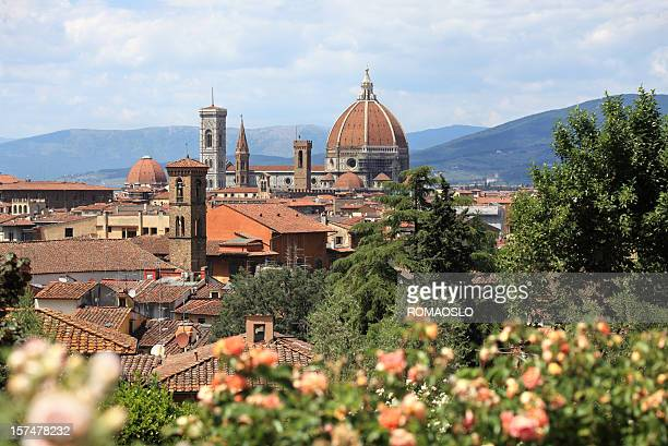 il Duomo in Florence , Tuscany Italy