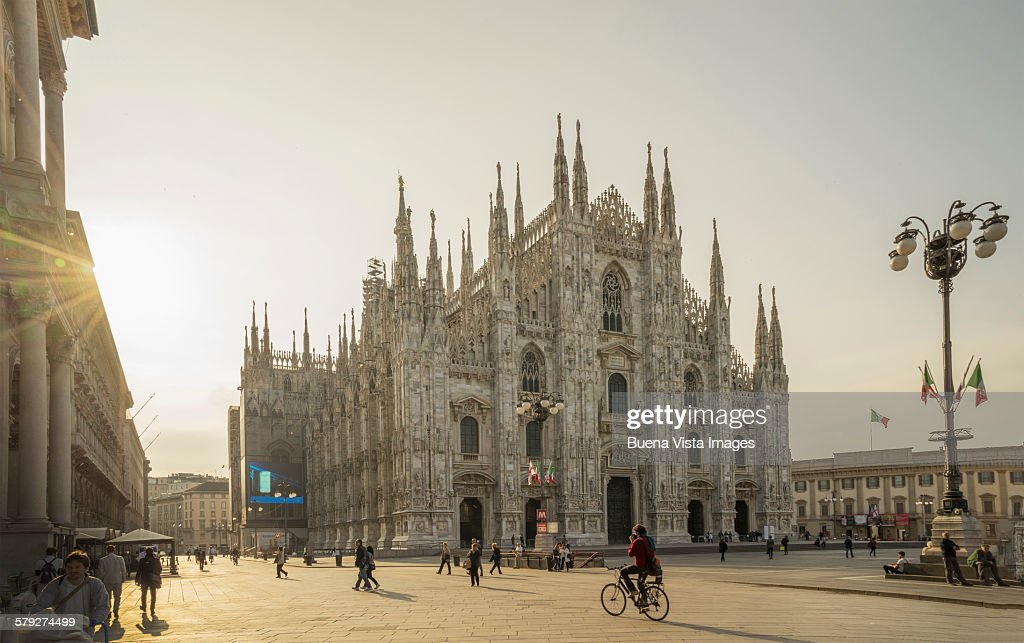 Il Duomo (The Cathedral) of Milan : Stock-Foto