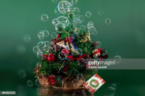 ...Il mio alberello di Natale, ma non avevo le palline...