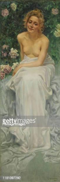 Il Piacere L'enigma umano Triptych 1900 Private Collection