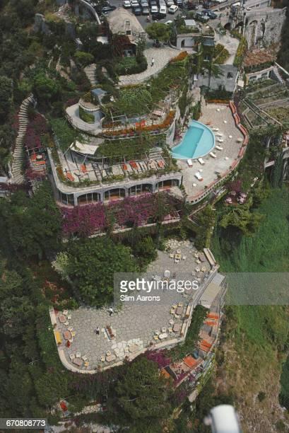 Il San Pietro di Positano a luxury hotel on the Amalfi coast in Positano August 1984