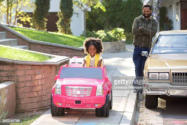 BUCK 'L'il Scarface' Episode 103 Pictured Aalyrah Caldwell as Maizy Russell Mike Epps as Buck Russell