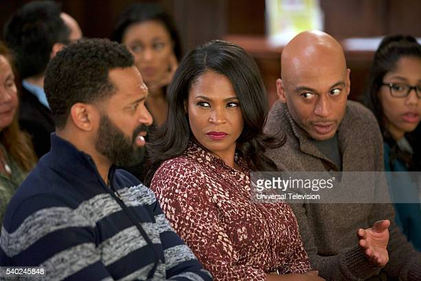 BUCK 'L'il Scarface' Episode 103 Pictured Mike Epps as Buck Russell Nia Long as Alexis Russell James Lesure as Will Russell