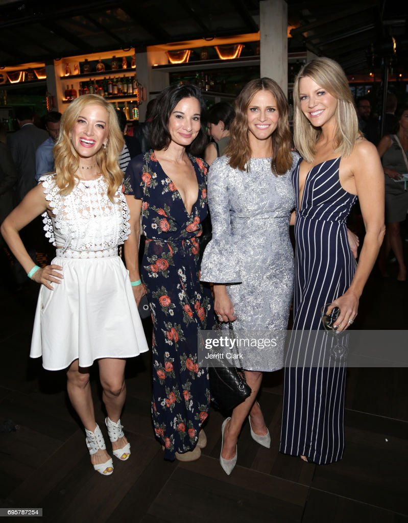 Ilana Becker, Alison Becker Andrea Savage and Kaitlin Olson attend the premiere of truTV's 'I'm Sorry' n June 13, 2017 in West Hollywood, California.