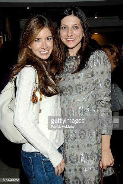 Ilana Blitzer and Lauren Cohen attend FRESH Citron de Vigne Launch with FELIX REY at Private Residence on December 9 2008 in New York City