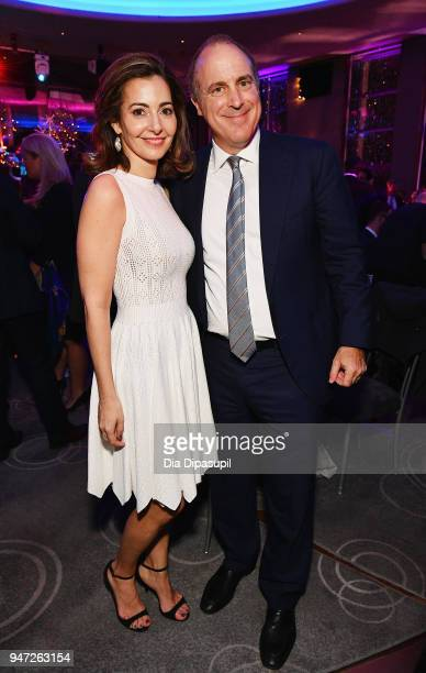 Ilana D Weinstein and guest attend the Lincoln Center Alternative Investment Industry Gala on April 16 2018 at The Rainbow Room in New York City