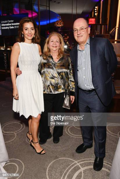 Ilana D Weinstein Giselle Weinstein and Steve A Cohen attend the Lincoln Center Alternative Investment Industry Gala on April 16 2018 at The Rainbow...