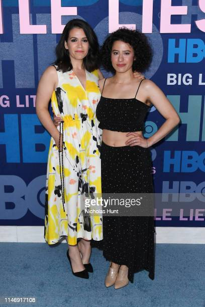 """Ilana Glazer and Abbi Jacobson attend the season 2 premiere of """"Big Little Lies"""" at Jazz at Lincoln Center on May 29, 2019 in New York City."""