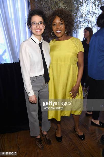Ilana Glazer and Alfre Woodard attend as ATT and Tribeca Host 2nd Annual Luncheon for ATT Presents Untold Stories An Inclusive Film Program in...