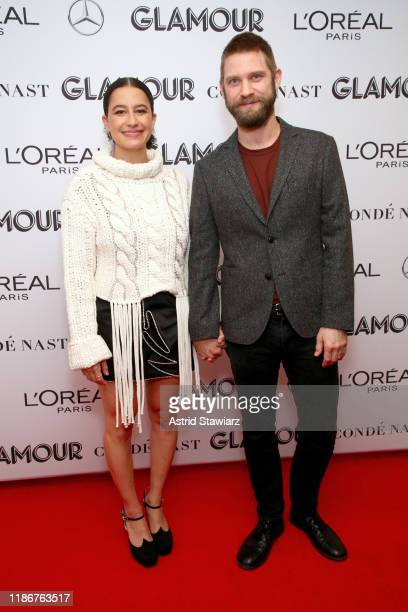 Ilana Glazer and David Rooklin attends the 2019 Glamour Women Of The Year Summit at Alice Tully Hall on November 10, 2019 in New York City.