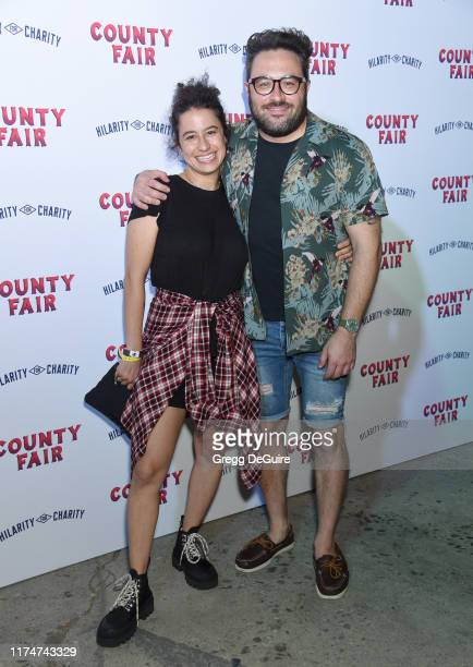 Ilana Glazer and Eliot Glazer attend Hilarity For Charity's County Fair hosted by Seth Rogen & Lauren Miller Rogen at The Row on September 14, 2019...