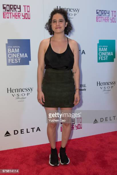 Ilana Glazer attends 'Sorry To Bother You' 10th Annual BAMcinemaFest Opening Night Premiere at BAM Harvey Theater on June 20 2018 in New York City
