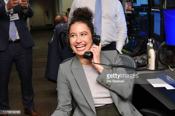 Ilana Glazer attends the Annual Charity Day Hosted By Cantor Fitzgerald BGC and GFI on September 11 2019 in New York City