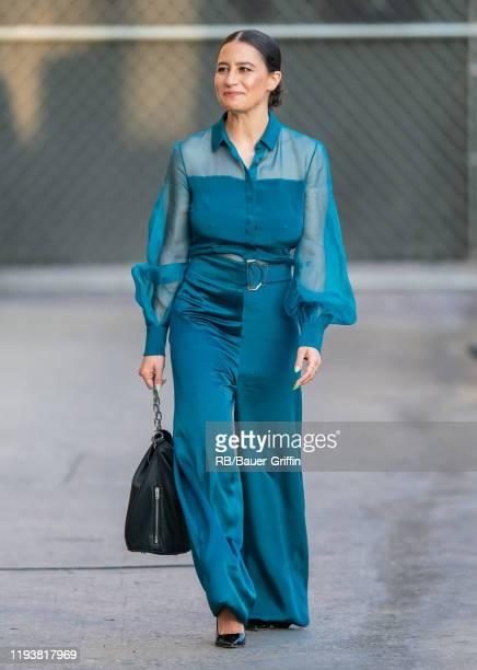 Ilana Glazer is seen at 'Jimmy Kimmel Live' on January 14, 2020 in Los Angeles, California.