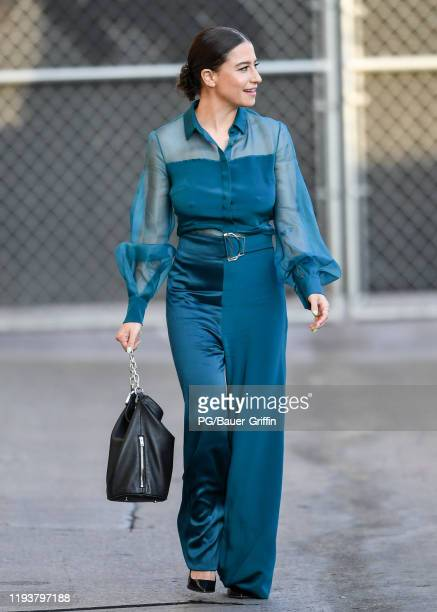Ilana Glazer is seen on January 14, 2020 in Los Angeles, California.
