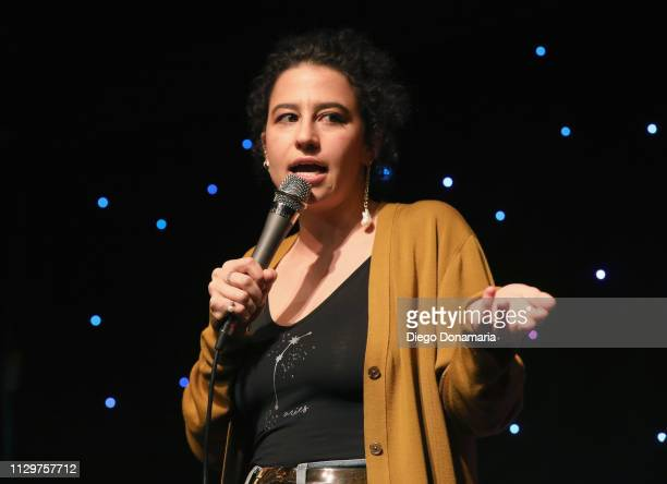Ilana Glazer speaks onstage at Upright Citizens Brigade's ASSSSCAT during the 2019 SXSW Conference and Festivals at Esther's Follies on March 10 2019...