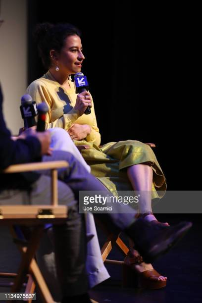 Ilana Glazer speaks onstage during Comedy Central's 'Broad City' series finale screening at SXSW iˆˆn Austin TX at ZACH Theatre on March 10 2019 in...