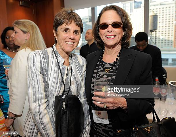 Ilana Kloss and Ann Moore attend FORTUNE Most Powerful Women Dinner New York City at Hudson Room at the Time Warner Center on May 24, 2011 in New...