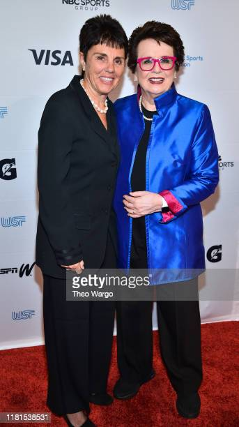 Ilana Kloss tennis and Billie Jean King tennis attend The Women in Sports Foundation 40th Annual Salute to Women in Sports Awards Gala celebrating...