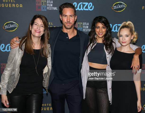 Ilana Rein, Wes Ramsey, Meera Rohit Kumbhani and Caitlin Mehner attend the 2018 Downtown Los Angeles Film Festival - 'All Creatures Here Below'...