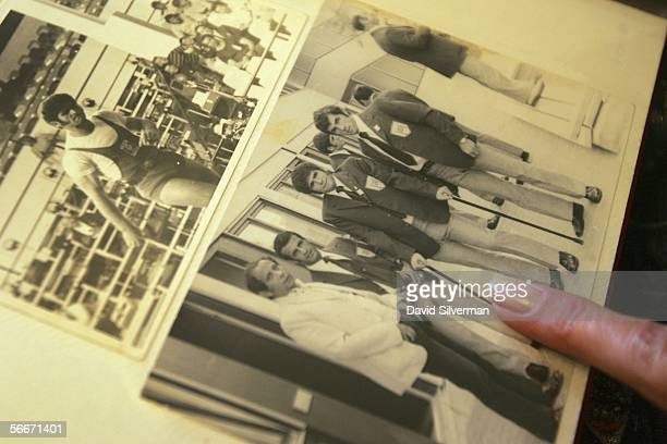Ilana Roman wife of Israeli weightlifter Yosef Romano one of 11 Israeli athletes murdered by Palestinian gunmen at the 1972 Olympic Games looks at...