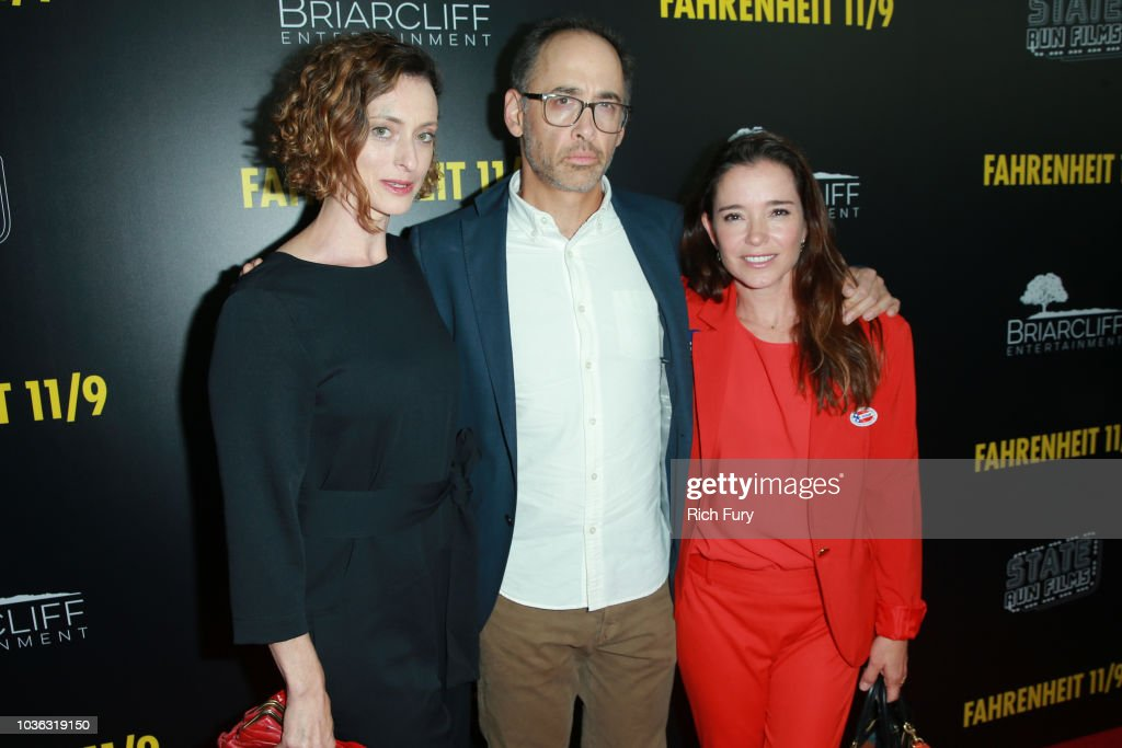 Premiere Of Briarcliff Entertainment's 'Fahrenheit 11/9' - Red Carpet : News Photo