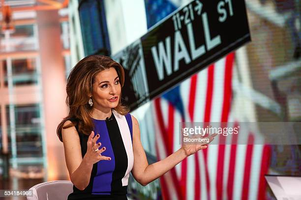Ilana Weinstein president and chief executive officer of IDW Group LLC speaks during a Bloomberg Television interview in New York US on Wednesday May...