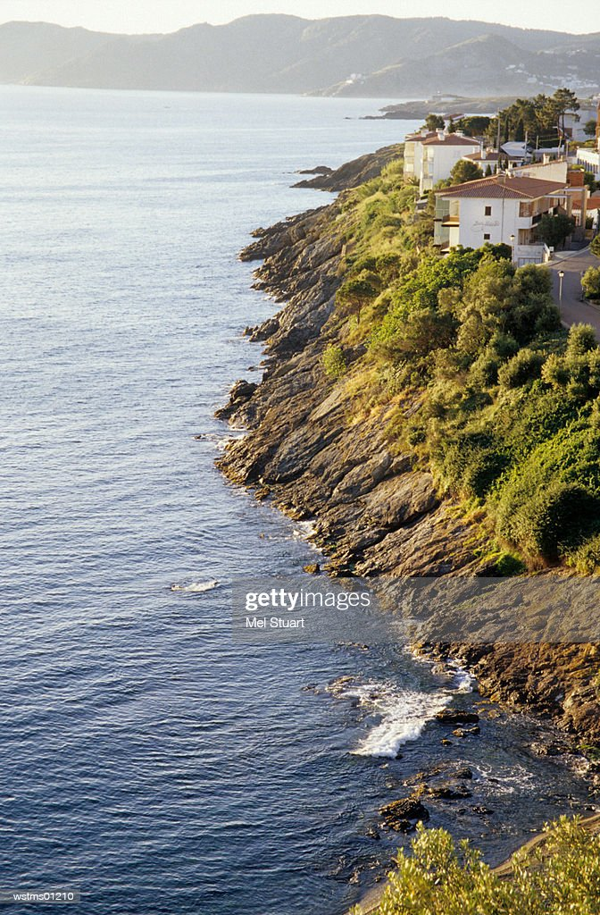 Ilanca, coastline of Costa Brava, Catalonia, Spain : ストックフォト
