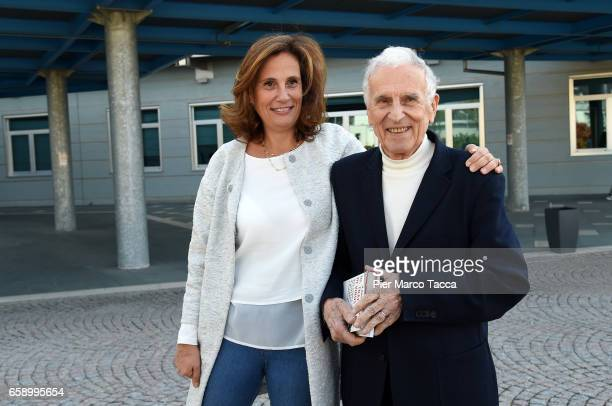 Ilaria Capua and Silvio Garattini attend a 'Io, Trafficante Di Virus. Una Storia Di Scienza E Di Amara Giustizia' book presentation on March 28, 2017...