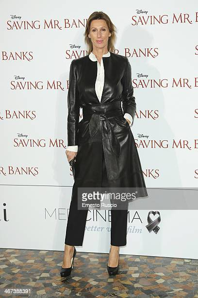 Ilaria de Grenet attends the 'Saving Mr Banks' premiere at The Space Moderno on February 6 2014 in Rome Italy
