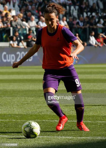 Ilaria Mauro during serie A 2018/2019 match between Juventus Woman v ACF Fiorentina in Turin on March 24 2019