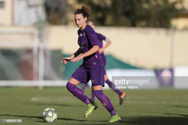 Ilaria Mauro of ACF Fiorentina women in action during the Women Serie A match between ACF Fiorentina and FC Internazionale at Stadio Artemio Franchi...