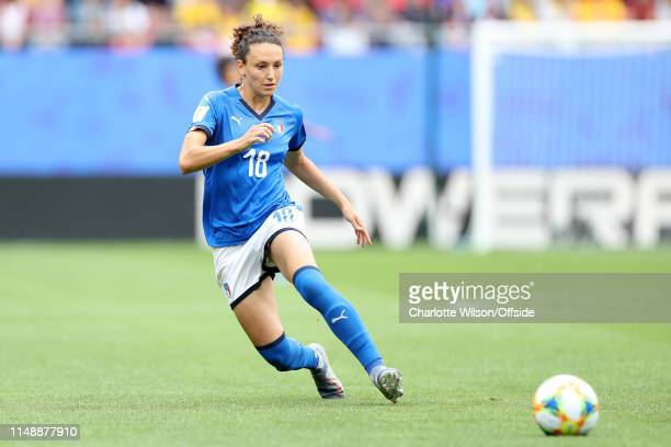 Ilaria Mauro of Italy during the 2019 FIFA Women's World Cup France group C match between Australia and Italy at Stade du Hainaut on June 9 2019 in...