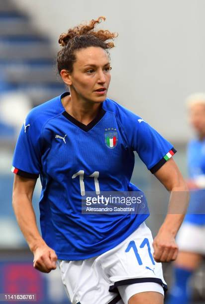 Ilaria Mauro of Italy Woman looks on during the International Friendly match between Italy Women and Ireland Women at Mapei Stadium Città del...