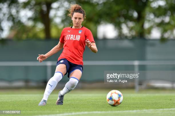 Ilaria Mauro of Italy Women in action during a training session at Stade Jean Boucton on June 11 2019 in WitrylesReims near Reims France