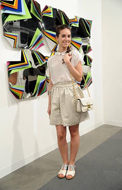 Ilaria Sgaravago Is Seen Wearing A Miu Bag Shoes Marc Jacobs