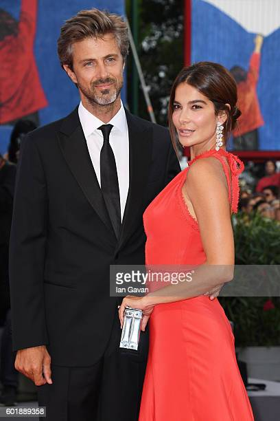 Ilaria Spada and jury member Kim Rossi Stuart attend the closing ceremony of the 73rd Venice Film Festival at Sala Grande on September 10 2016 in...