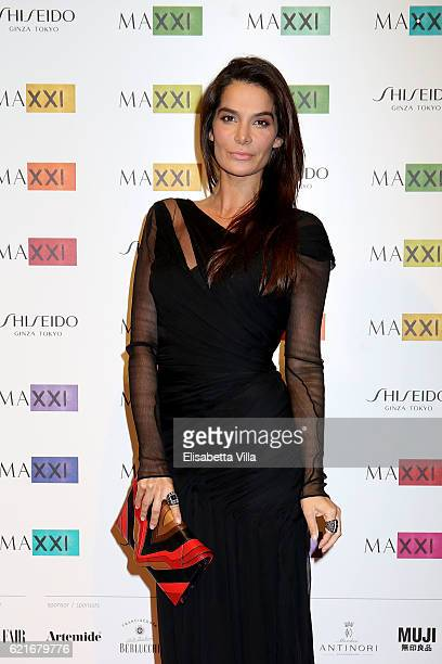 Ilaria Spada attends a photocall for the MAXXI Acquisition Gala Dinner 2016 at Maxxi Museum on November 7 2016 in Rome Italy
