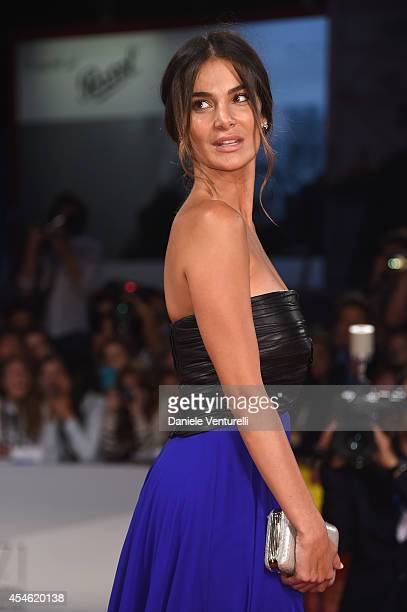 Ilaria Spada attends 'Pasolini' Premiere during the 71st Venice Film Festival at Sala Grande on September 4 2014 in Venice Italy