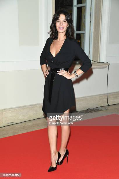 Ilaria Spada attends the Telethon Gala during the 13th Rome Film Fest at Villa Miani on October 19 2018 in Rome Italy
