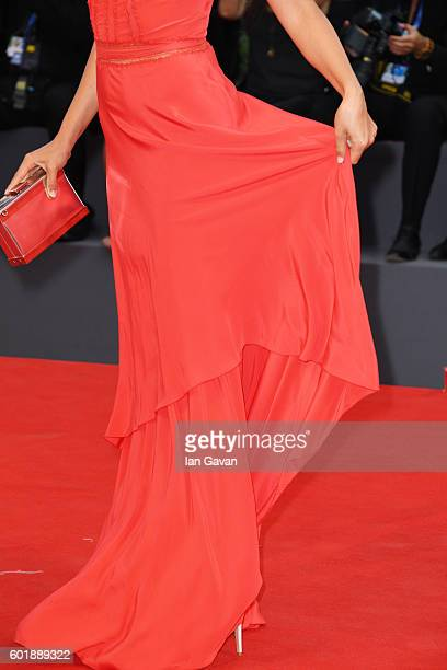 Ilaria Spada details attends the closing ceremony of the 73rd Venice Film Festival at Sala Grande on September 10 2016 in Venice Italy