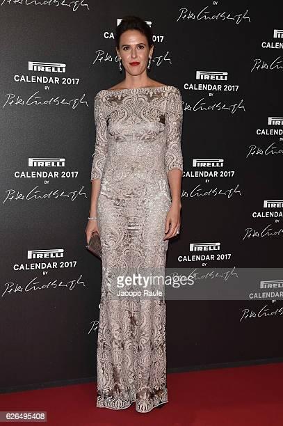 Ilaria Tronchetti Provera attends Pirelli Calendar 2017 by Peter Lindberg photocall at La Cite Du Cinema on November 29 2016 in SaintDenis France