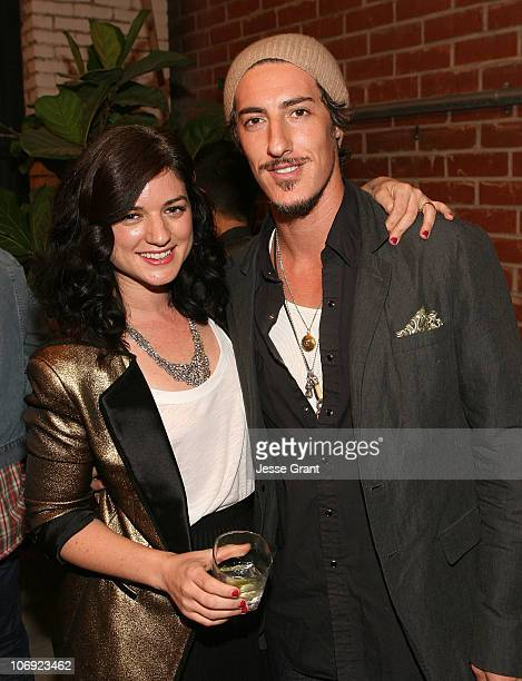 Ilaria Urbinati and Eric Balfour attend the special edition of GQ The Style Manual celebration at Confederacy on November 16 2010 in Los Angeles...