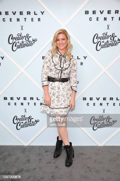 Ilaria Urbinati arrives at Beverly Center's Grand Reveal Weekend Everyone Welcome with Create Cultivate at Beverly Center on November 3 2018 in Los...