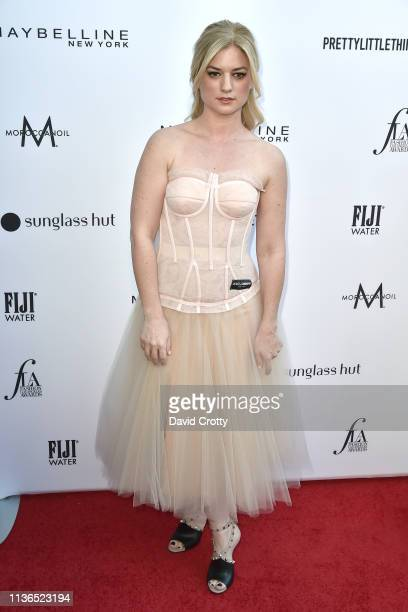 Ilaria Urbinati attends The Daily Front Row Fifth Annual Fashion Los Angeles Awards at Beverly Hills Hotel on March 17 2019 in Beverly Hills...