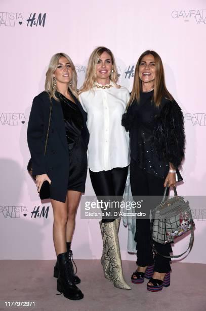 Ilary Blasi attends the 'Giambattista Valli Loves H&M' Show on October 24, 2019 in Rome, Italy.