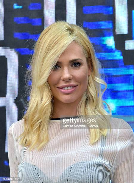 Ilary Blasi attends the presentation of 'Grande Fratello Vip' on September 16 2016 in Rome Italy
