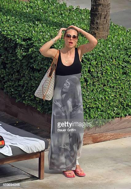 Ilary Blasi is seen on June 07, 2012 in Miami, Florida.