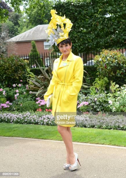 Ilda Di Vico attends day 1 of Royal Ascot at Ascot Racecourse on June 20 2017 in Ascot England